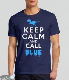 Keep Calm And Call Blue (T-Shirt)