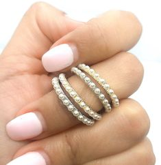 Dainty MOON STAR OPAL crescent style Band Ladies ring goldwhite minimalist style Guicci Style