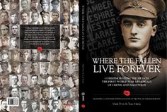 Where The Fallen Live Forever - book cover layout for MPire Books