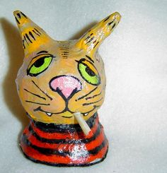 paper mache cats - Bing Images
