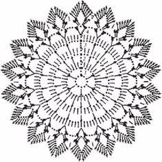 ru / Photo # 51 - Only the scheme - git-ta Crochet Doily Patterns, Crochet Diagram, Crochet Chart, Thread Crochet, Crochet Doilies, Crochet Flowers, Crochet Stitches, Cheap Rustic Decor, Cheap Home Decor