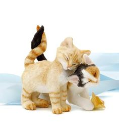 Cake topper  Country Artists Romantic Tales Kittens Figurine 14239 on eBay!