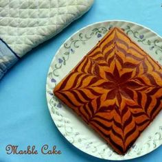 Eggless Butterless Marble Cake / Zebra Cake recipe by Poonam Bachhav at BetterButter Eggless Baking, Eggless Recipes, Vegan Baking, Bread Recipes, Baking Recipes, Easy Recipes, Vegan Recipes, Chocolate Marble Cake, Marble Cake Recipes