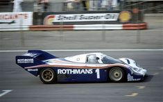 The Porsche 956 chassis 001  1982 Silverstone 6 Hours