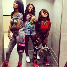 Squad Pretty Girl Swag Black Beauty