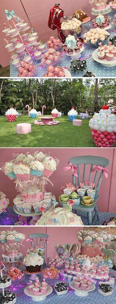 Festa temática infantil Cupcake | Festas | Madame Inspiração