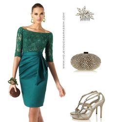 Hoje vou casar assim: Looks de festa com vestidos curtos Pronovias