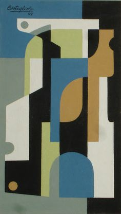 Composición Vertical (Costigliolo, Jose Pedro. 1947)