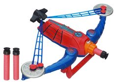 spiderman toys for kids | ultimate-spider-man-power-webs-spider-strike-cross-bow