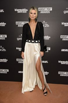 Katja Kühne – About You Awards in Hamburg - Celebrity Nude Leaked! Satin Skirt, Awards, Nude, Celebrities, Skirts, Beauty, Collection, Beautiful, Style