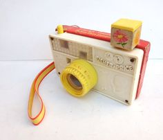 Fisher Price Vintage Camera 1967 number 784 by TimelessToyBox, $9.95