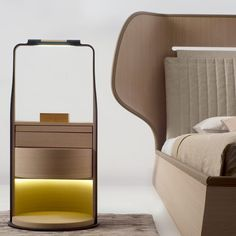 | Chi Wing Lo | Italian | Bedside Table | Material | Elegant |