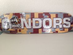 Bakersfield Condors Skateboard  No Wheels Frame Only