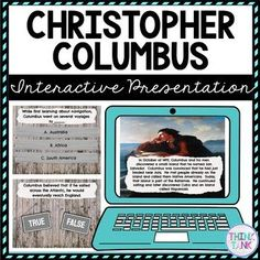 Christopher Columbus Interactive Google Slides™ Presentation | Social Studies and History Distance Learning Activities that can also be used when in the classroom! Students will learn about #chirstophercolumbus #columbusday and more! Includes close reading comprehension passages and questions. Perfect for social studies students in #4thgrade #5thgrade #6thgrade #7thgrade #8thgrade !  #upperelementary #middleschool