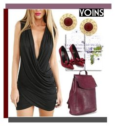 """yoins 41"" by ajsajunuzovic ❤ liked on Polyvore featuring moda, women's clothing, women, female, woman, misses e juniors"