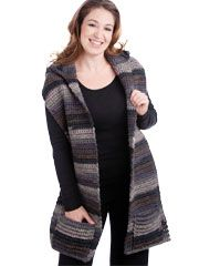 Hooded Wrap Pattern - Electronic Download