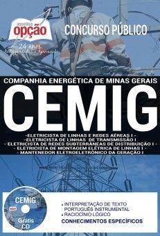 Nova -  Apostila Concurso CEMIG 2018 - CARGOS DE NÍVEL MÉDIO  #apostilas