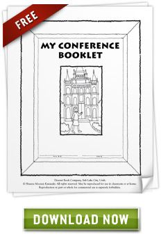 Free General Conference Packet  *This is a great packet.  My kids had fun coloring in this!