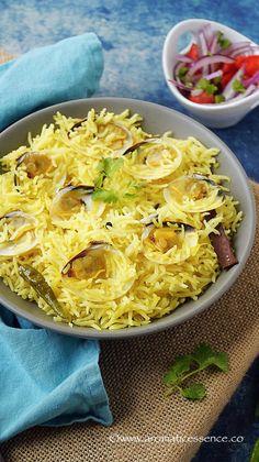 Goan Tisreo (Clam) Pulao/Pilaf | Aromatic Essence