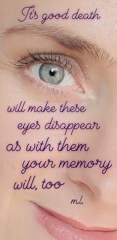 Demons, Death, Memories, Eyes, Love, How To Make, Amor, Souvenirs, Devil