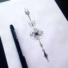 Resultado de imagen para arrow tattoo designs for women