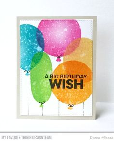 It's time! You may now purchase the Sending Birthday Wishes Card Kit in the MFT Store! Before you go, I have one more project to sha...