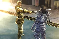 Alistair executes Tern Loghain.