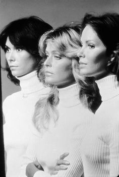 Charlie's Angels, 1979 (left to right) Jaclyn Smith, Farrah Fawcett, Kate Jackson Betty White was still the coolest, rock stars played sports together and The Beatles hung out with The Rolling Stones. Here are 18 images that will take . Kate Jackson, Jaclyn Smith, Tamar Braxton, Betty White, Farrah Fawcett, Toni Garrn, Rap Monster, Beautiful Celebrities, Beautiful Actresses