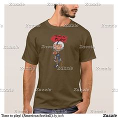 Time to play! (American football) T-Shirt