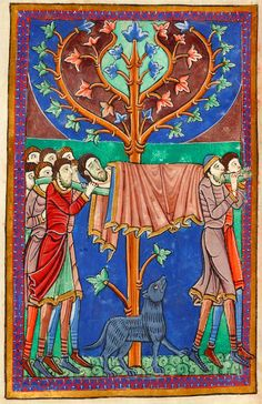 Borne to Burial | Miscellany on the life of St. Edmund | England, Bury St Edmunds | ca. 1130 | The Morgan Library & Museum