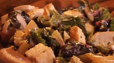 Creamy Chicken, Greens And Roasted Poblano Tacos from Rick Bayless Turkey Recipes, Mexican Food Recipes, Chicken Recipes, Gourmet Tacos, Rick Bayless, Soft Tacos, Food Obsession, Serious Eats, Creamy Chicken