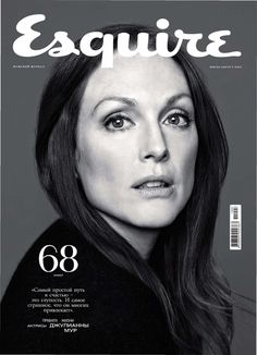 Julianne Moore for Esquire Russia, July 2011