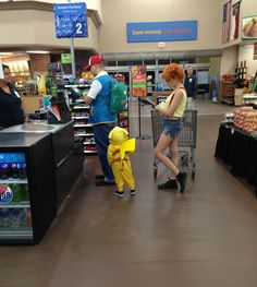 IS THERE A SUBWAY IN THAT WAL-MART??? - Funny Pictures at Walmart