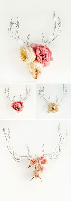 antler-and-flowers