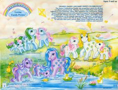 My Little Pony Loving Families Backcard