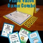 The Place Value Game Combo consists of four games for reviewing whole number and decimal place value.They make great math center activities and coo...