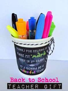 Back to School Teacher Gift. (via Bloglovin.com )