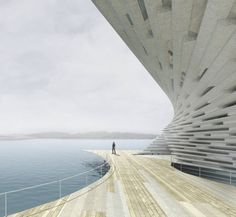 kengo kuma_museum of art and design at dundee scotland