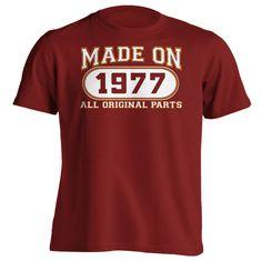 Mens 39th Birthday T-Shirt