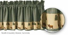 Park Designs Northern Exposure Valance, 72 x 14 Northern Exposure, Kitchen Window Treatments, Lodge Style, Lodge Decor, Plaid Fashion, Plaid Design, Decorating Your Home, Decorating Kitchen, Cabins In The Woods