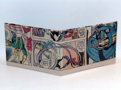 Comic Book Wallet// Spider-Man and Mister Fantastic vs Electro, $4.00