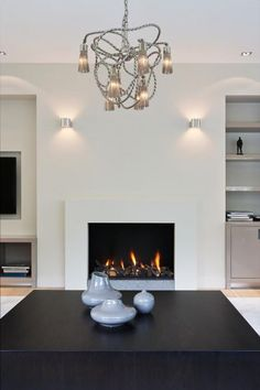 Have a Fireplace in Your Home – Fireplace Tip[s & Tricks Wooden Fireplace, Home Fireplace, Fireplace Design, Fireplace Mantels, Fireplaces, Floating Fireplace, Mantel Styling, Interior Design Living Room, Living Room Decor