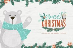 Sweet Christmas Collections by 7th Avenue Designs on @creativemarket