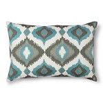 "Thresholdâ""¢ Ogee Decorative Pillow - Aqua"
