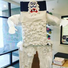 Winter Break was Abominable this year! Snow and winter themed projects filled the space, including this GIANT Abominable Snowman Interactive Art, Winter Theme, Snowman, Broadway, Space, Projects, Floor Space, Log Projects, Blue Prints