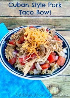 Cuban Pork Bowls | Recipe | Cuban Pork, Pork and Bowls