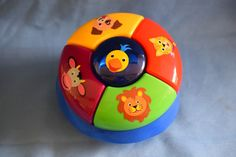 Baby Einstein Discovery & Play Exersaucer Animal Sounds Musical Toy Replacement #Graco