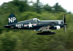 F-4U Corsair   -   Tree tops Yipeee!