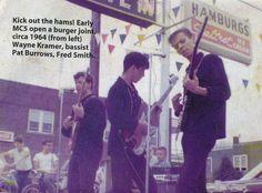 "zombiesenelghetto: "" The MC5, early lineup, 1964 • via """