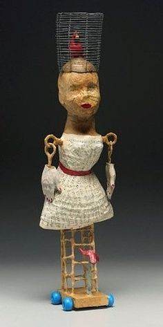 TIFFANY OWNBEY paper mache artist - A Good Disquise